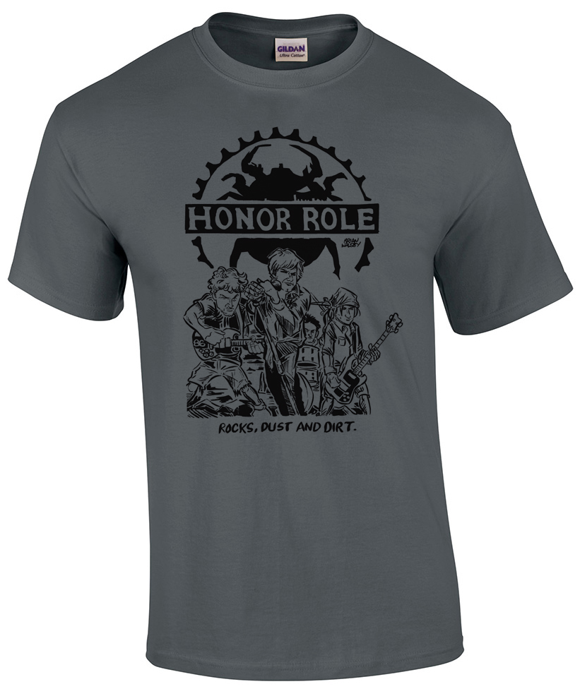Honor Role - Bifocal Media Limited Edition T-Shirts