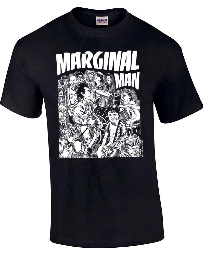 Marginal Man - Bifocal Media Limited Edition T-Shirts