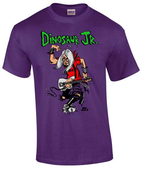 Dinosaur Jr - Circle Jerks - T shirt