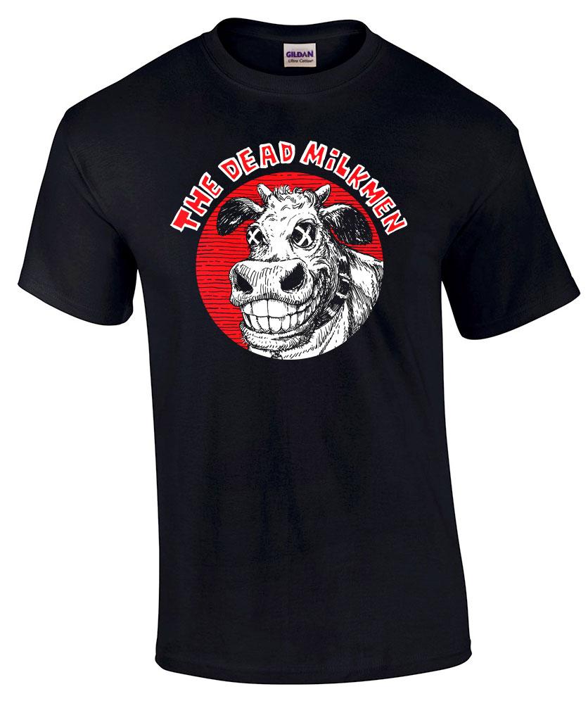 Dead Milkmen - Bifocal Media Limited Edition T-Shirts