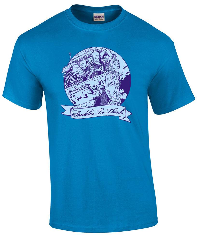 Shudder To Think - Bifocal Media Limited Edition T-Shirts