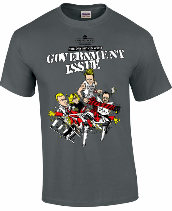 Government Issue - Dischord - T shirt