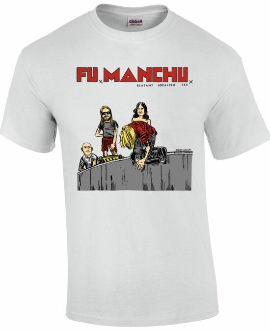 fu manchu T shirt - JFA