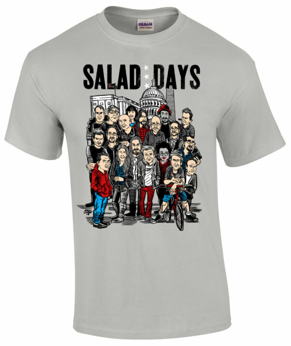 Salad Days T shirt - Dischord - Minor Threat - Fugazi