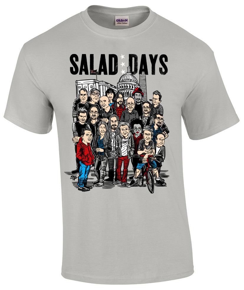 Salad Days - Bifocal Media Limited Edition T-Shirts