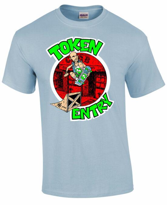 token entry t shirt