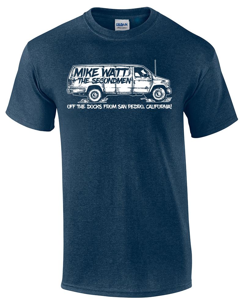 Mike Watt + Secondmen - Bifocal Media Limited Edition T-Shirts