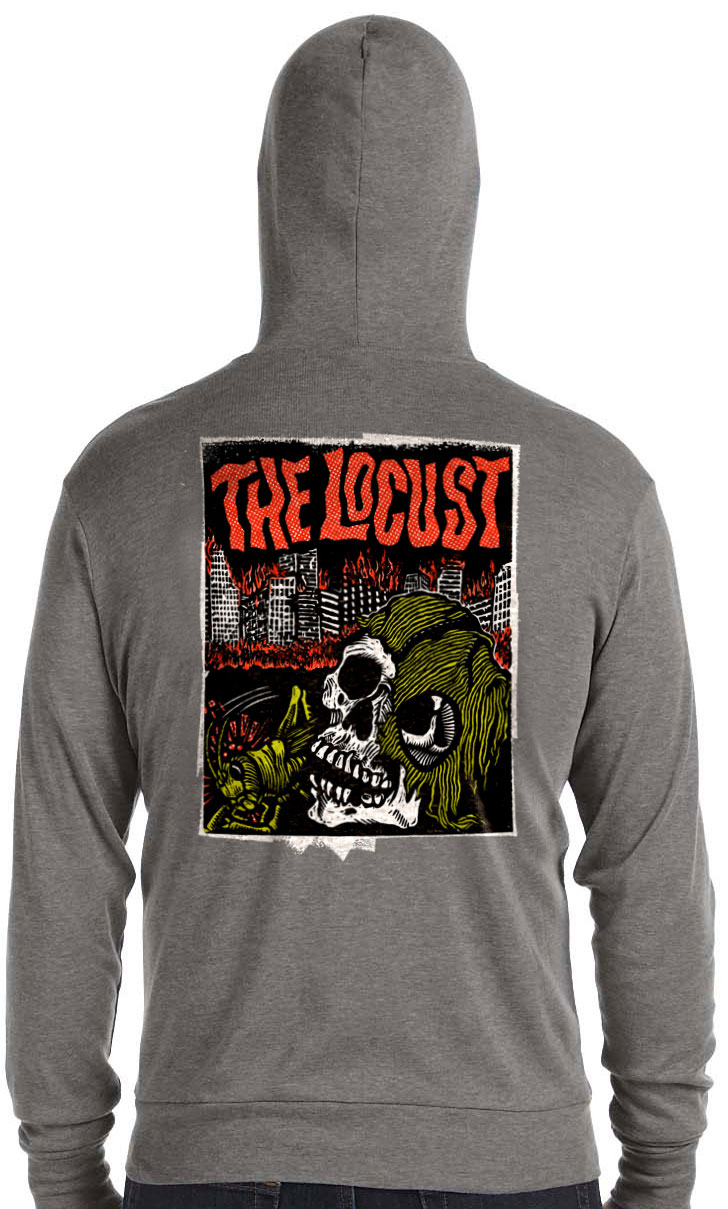 The Locust - Bifocal Media Limited Edition T-Shirts
