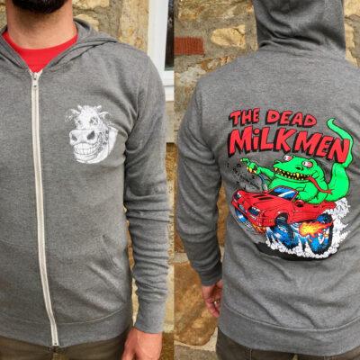 Dead Milkmen Hoodie Pic