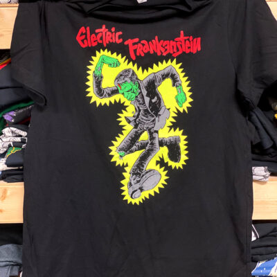 Electric Frankenstein Tee Pic
