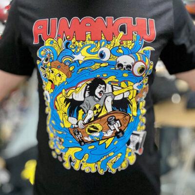 Fu Manchu T Shirt Pic Small