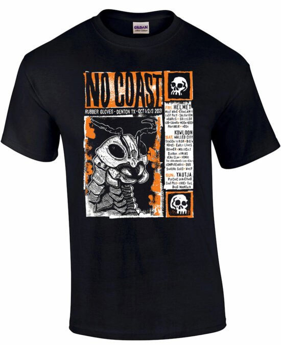 No Coast Fest T shirt