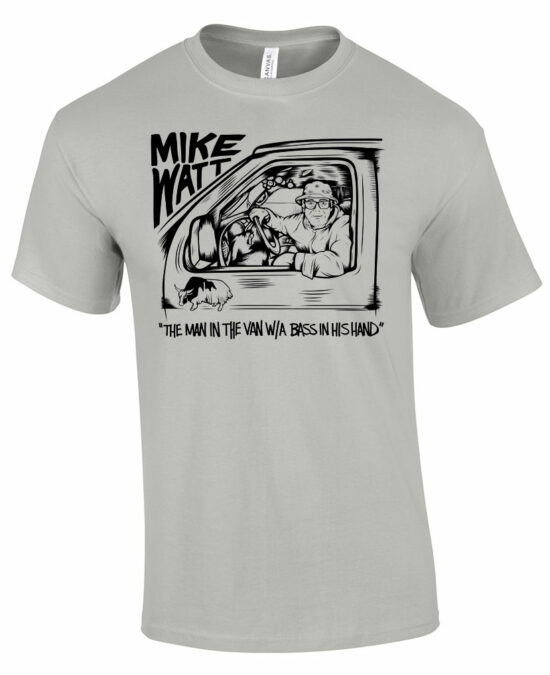 Mike Watt T shirt Minutemen