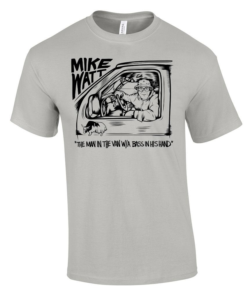 Mike Watt - Bifocal Media Limited Edition T-Shirts